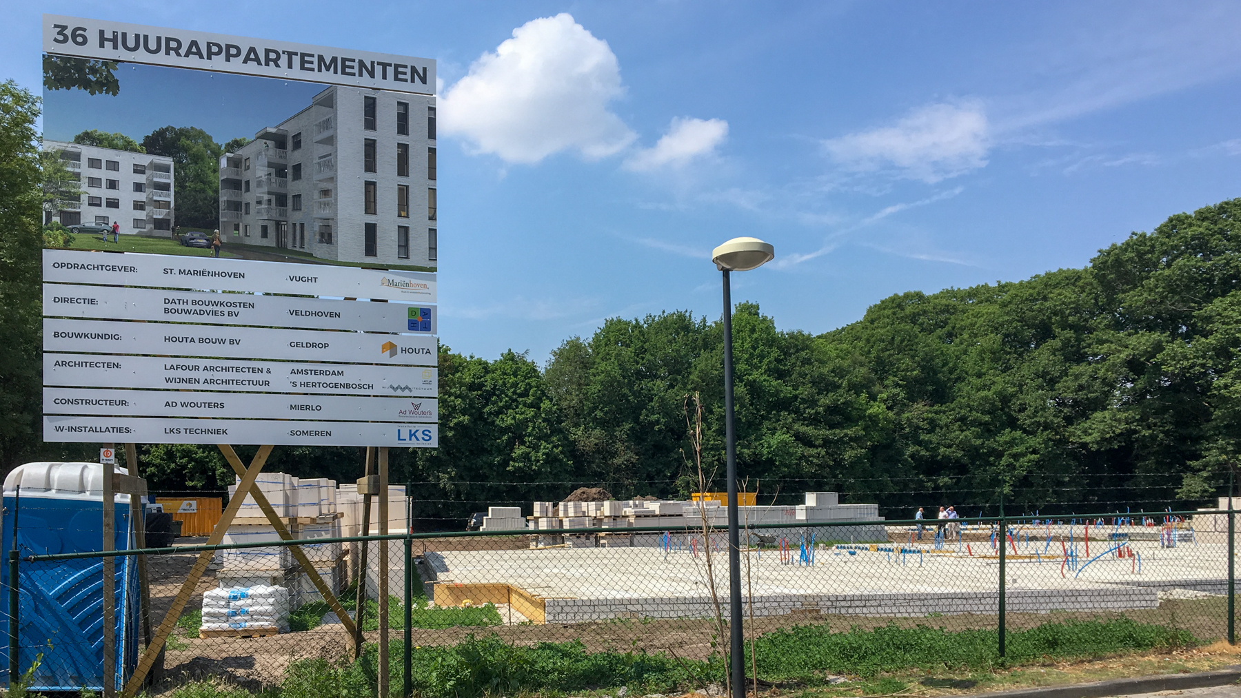 Start bouw 36 appartementen in Vught